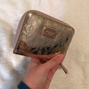 Michael Kors Bags - Michael Kors Wallet Rose Gold